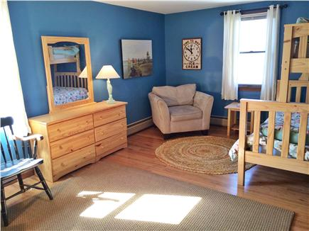 West Yarmouth Cape Cod vacation rental - The kids' room has a lounging area for games.