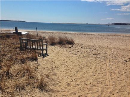 West Yarmouth Cape Cod vacation rental - Perfect beach for kids' swimming and picnic lunch.