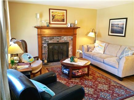 West Yarmouth Cape Cod vacation rental - Relaxing living room with flat screen tv and dvd player ready.