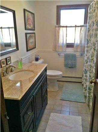 West Yarmouth Cape Cod vacation rental - Recently updated full bath on main floor.