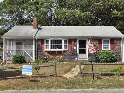 Dennisport Cape Cod vacation rental - Front of the House