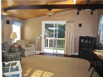 South Chatham Cape Cod vacation rental - Large Living Room Area with Balcony