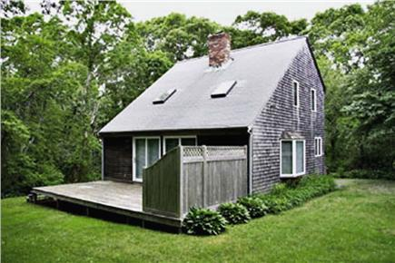Eastham Cape Cod vacation rental - Relax and grill on the deck