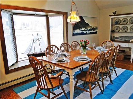 Eastham Cape Cod vacation rental - Dining area, sunny bay window