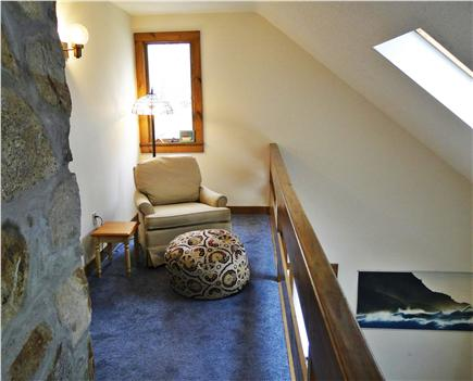 Eastham Cape Cod vacation rental - Sitting area in upstairs loft