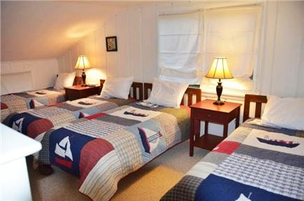 Orleans Cape Cod vacation rental - Upstairs bunk room in Guest House