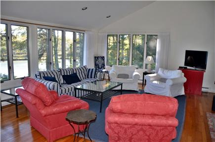 Orleans Cape Cod vacation rental - Living Room with extensive water views