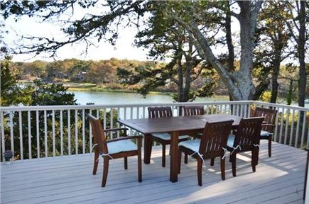 Orleans Cape Cod vacation rental - Dining on the deck