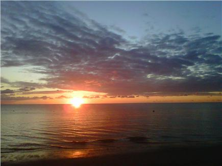 Eastham Cape Cod vacation rental - Sunset from Campground Beach just 100 yards away!