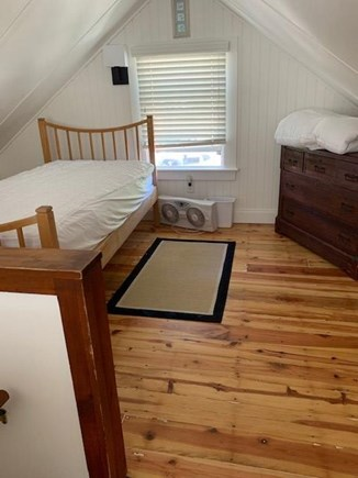 Eastham Cape Cod vacation rental - Loft bedroom with newly updated electrical and refinished floor