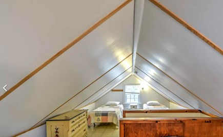 Eastham Cape Cod vacation rental - Upstairs loft bedroom with three twin beds