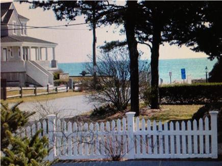 Mashpee Cape Cod vacation rental - View from Front Living Room Window