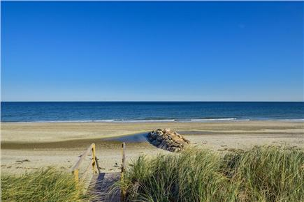 Sandwich, Scorton Shores Cape Cod vacation rental - Private Beach Access From the Back Yard of House
