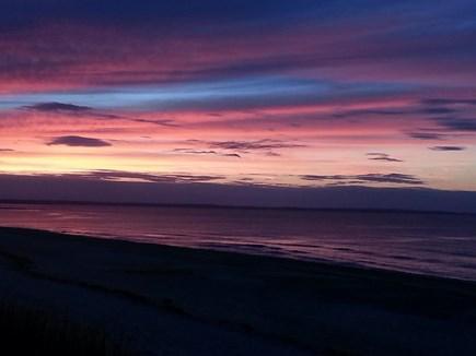 Sandwich, Scorton Shores Cape Cod vacation rental - Sunset over Cape Cod Bay in Scorton Shores