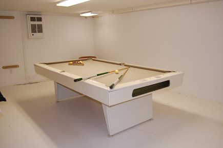 Sandwich, Scorton Shores Cape Cod vacation rental - Pool Table in Basement