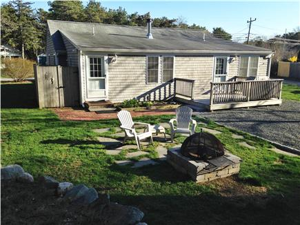 Dennisport Cape Cod vacation rental - Larger view of backyard