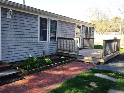Dennisport Cape Cod vacation rental - Back porch