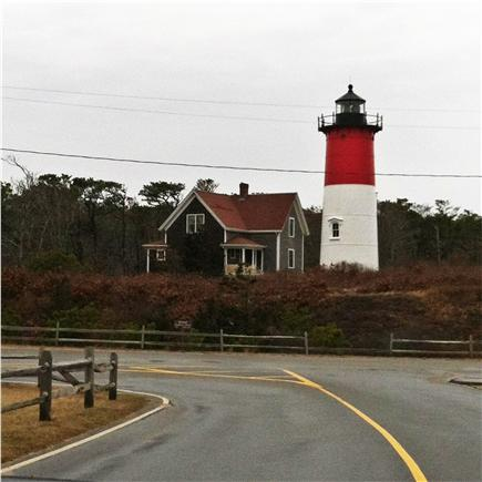 North Eastham Cape Cod vacation rental - Nauset Lighthouse beach overlooks the Altantic. Park early !