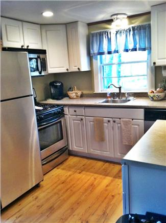 North Eastham Cape Cod vacation rental - Full Kitchen / dish washer, microwave, Keurig & coffee pot