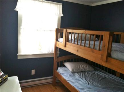 North Eastham Cape Cod vacation rental - 3rd BR/single bunks. Kid love em! plenty of added storage under