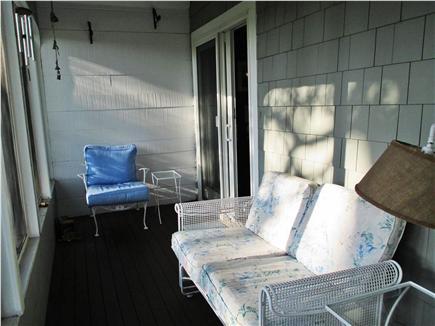 Harwich Port Cape Cod vacation rental - Enclosed front porch