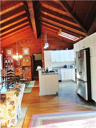 Harwich Port Cape Cod vacation rental - Kitchen and dining table