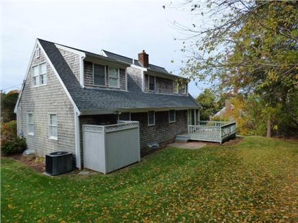 East Dennis Cape Cod vacation rental - Large Back yard with deck