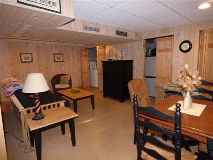 East Dennis Cape Cod vacation rental - Basement area