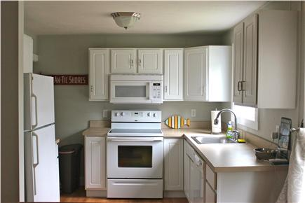 Wareham, Swifts Beach/Broadmarsh Cove MA vacation rental - The renovated kitchen is fully equipped