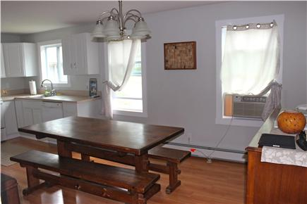Wareham, Swifts Beach/Broadmarsh Cove MA vacation rental - The Dining Room opens to the Kitchen and has a large table