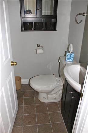 Wareham, Swifts Beach/Broadmarsh Cove MA vacation rental - There is a renovated half bath on the first floor
