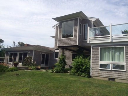East Orleans Cape Cod vacation rental - Side of house