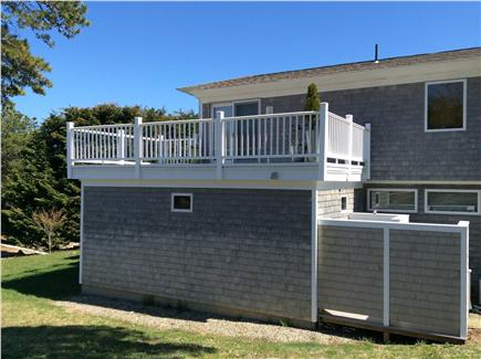 East Orleans Cape Cod vacation rental - Roof top deck with out door shower and dressing area