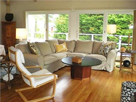 East Orleans Cape Cod vacation rental - Living room great room