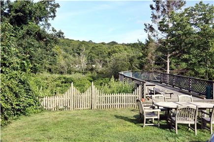 Woods Hole, Falmouth Woods Hole vacation rental - Large private backyard for relaxing.