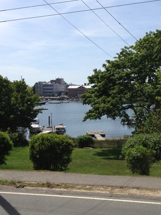 Woods Hole, Close to town and beach Woods Hole vacation rental - View from front porch.