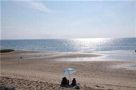 Eastham Cape Cod vacation rental - Beautiful bay beach in front of the house
