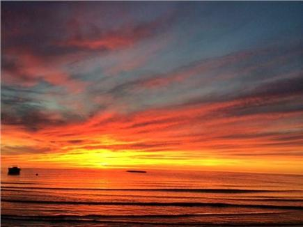 Eastham Cape Cod vacation rental - Every evening is outdoor art
