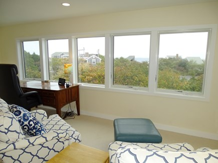 Eastham Cape Cod vacation rental - Upstairs office with water view