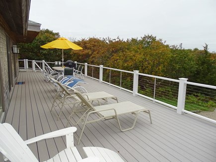 Eastham Cape Cod vacation rental - Perfect place to eat, drink, relax, look at the water from deck