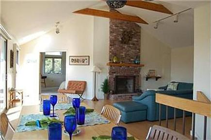 Eastham Cape Cod vacation rental - Dining area looking at the large living room