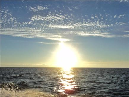 Orleans Cape Cod vacation rental - Beautiful sunset at Rock Harbor
