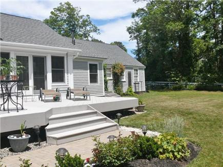 Orleans Cape Cod vacation rental - 32' x 16' deck overlooking 18 acres of conservation land