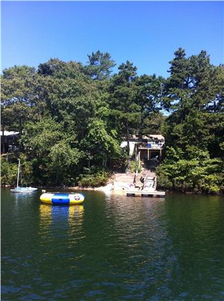 Falmouth Cape Cod vacation rental - View from one of the cleanest ponds in Massachusetts!