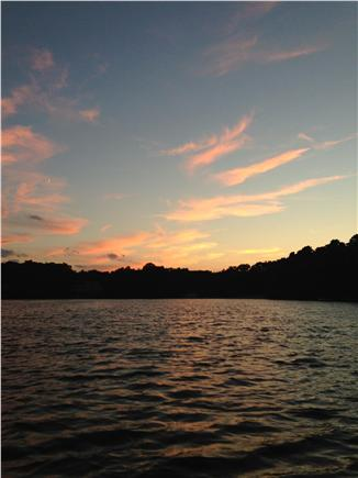 Falmouth Cape Cod vacation rental - Sunset cruises on a warm summer night!