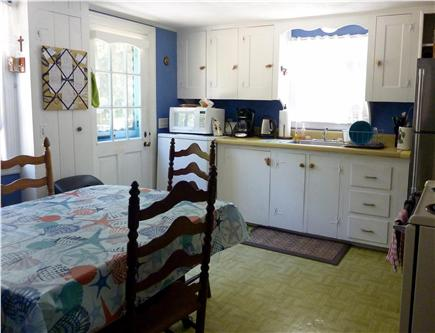 West Harwich Cape Cod vacation rental - Bright eat-in kitchen - side view