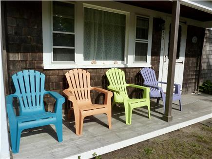 West Harwich Cape Cod vacation rental - Enjoy your morning coffee on the front porch!