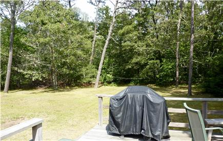 West Harwich Cape Cod vacation rental - Large private backyard