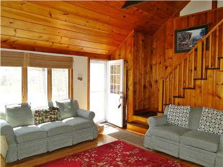 Eastham Cape Cod vacation rental - Sunny living room with flat screen TV
