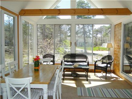 Eastham Cape Cod vacation rental - Best room in the house! Eat, relax, read in the sun porch
